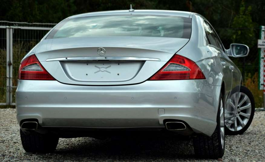 Mercedes CLS 320 Opłacony 320CDI Lift Wentyle Skóra Navi Bi-xenon Alu Gwarancja zdjęcie 15