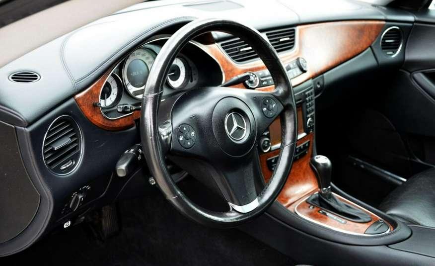 Mercedes CLS 320 Opłacony 320CDI Lift Wentyle Skóra Navi Bi-xenon Alu Gwarancja zdjęcie 23
