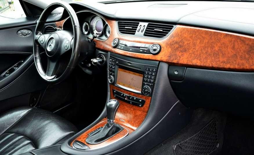 Mercedes CLS 320 Opłacony 320CDI Lift Wentyle Skóra Navi Bi-xenon Alu Gwarancja zdjęcie 30