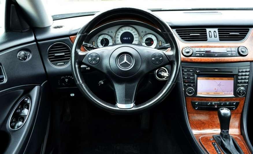 Mercedes CLS 320 Opłacony 320CDI Lift Wentyle Skóra Navi Bi-xenon Alu Gwarancja zdjęcie 34