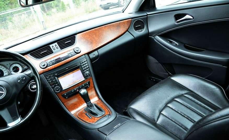 Mercedes CLS 320 Opłacony 320CDI Lift Wentyle Skóra Navi Bi-xenon Alu Gwarancja zdjęcie 35