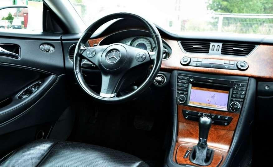 Mercedes CLS 320 Opłacony 320CDI Lift Wentyle Skóra Navi Bi-xenon Alu Gwarancja zdjęcie 36