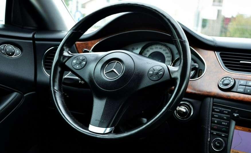 Mercedes CLS 320 Opłacony 320CDI Lift Wentyle Skóra Navi Bi-xenon Alu Gwarancja zdjęcie 37