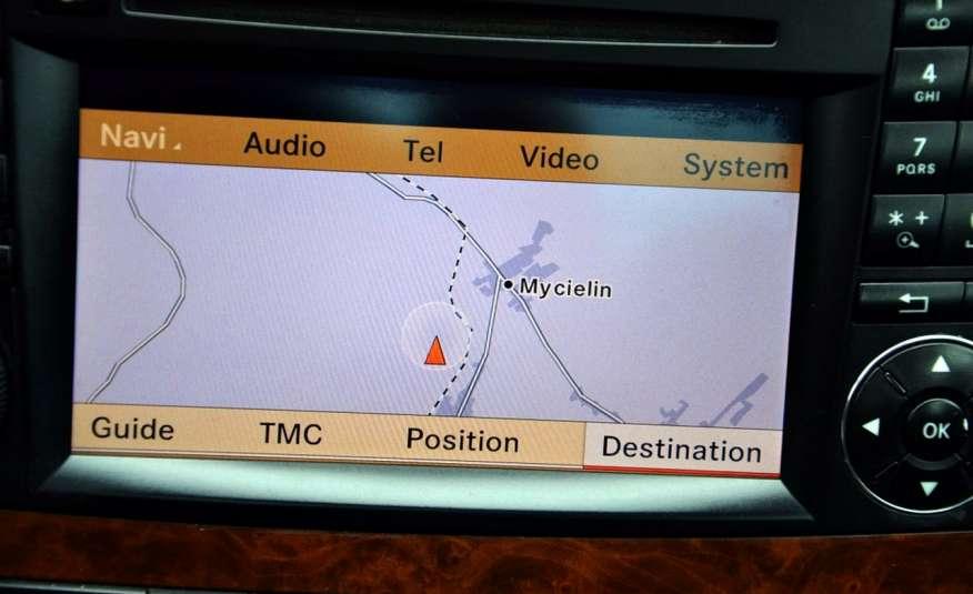 Mercedes CLS 320 Opłacony 320CDI Lift Wentyle Skóra Navi Bi-xenon Alu Gwarancja zdjęcie 39