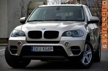 BMW X5 Zarejestrowana 3.0D Serwis Jasna skóra Navi Panorama Gwara