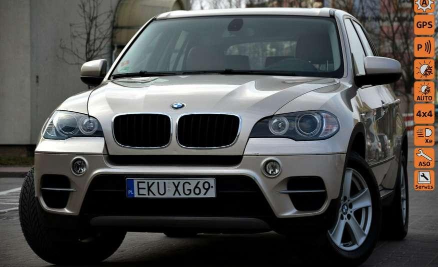 BMW X5 Zarejestrowana 3.0D Serwis Jasna skóra Navi Panorama Gwara zdjęcie 1