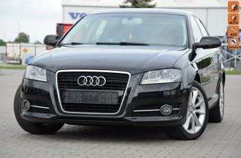 Audi A3 Czarne Opłacone 2.0TDI Serwis Lift Start/Stop Klima Alu Gwarancja