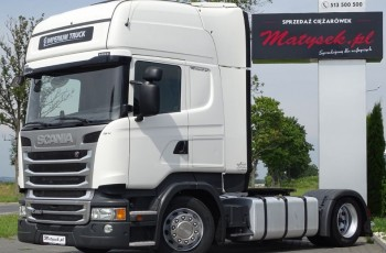 Scania R 450 / TOPLINE / LOW DECK / MEGA / RETARDER / ACC / EURO 6 /