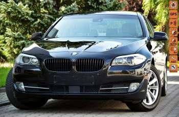 BMW 523 Czarna perła Zarejestr. 3.0i 204KM Serwis ACC Kamera Keylessgo Gwara