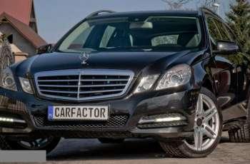 Mercedes E 200 Avantgarde, 7 Miejsc, Xenon, Skóra, Bezwypadkowy, Zamiana