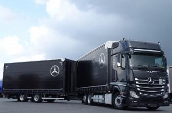 Mercedes ACTROS 2545 / ZESTAW TANDEM 120 M3 / PRZEJAZDOWY / GIGA SPACE / EURO 6 / I-COOL / 6x2