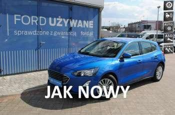 FORD Focus Hatchback Titanium 1, 5 EcoBlue 120KM ASO Forda Gwarancja rej. 2021