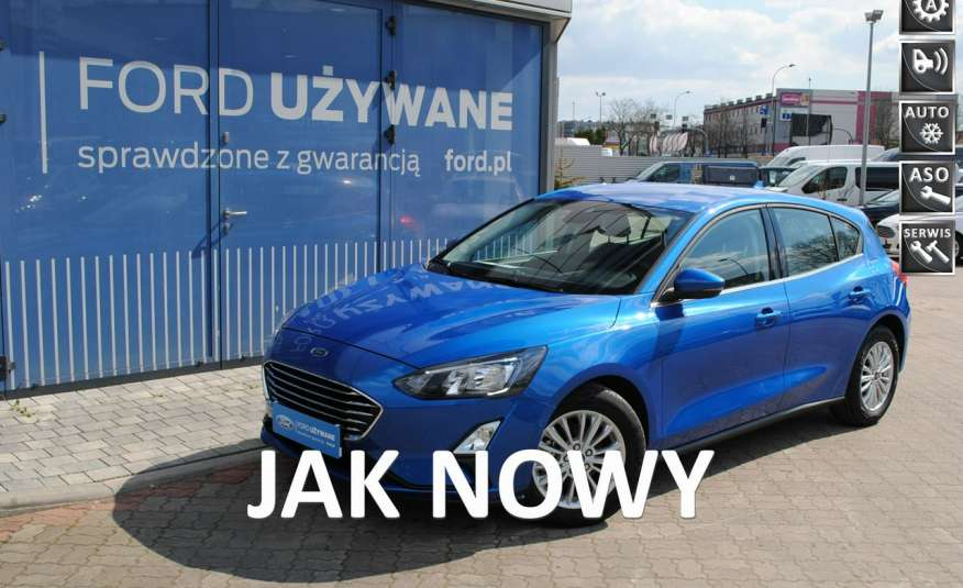 Focus Hatchback Titanium 1, 5 EcoBlue 120KM ASO Forda Gwarancja rej. 2021 zdjęcie 1