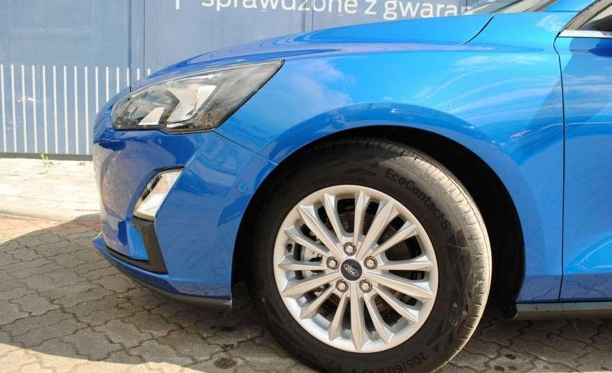 Focus Hatchback Titanium 1, 5 EcoBlue 120KM ASO Forda Gwarancja rej. 2021 zdjęcie 19