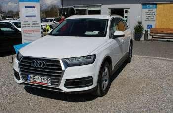 Audi Q7 F-Vat, Gwarancja, Salon Polska, Automat, Skórzana Tapicerka, Grzane Fotele