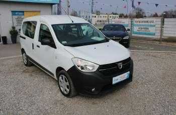 Dacia Dokker F-Vat, Gwarancja, Salon Polska, 5-osób.65tys
