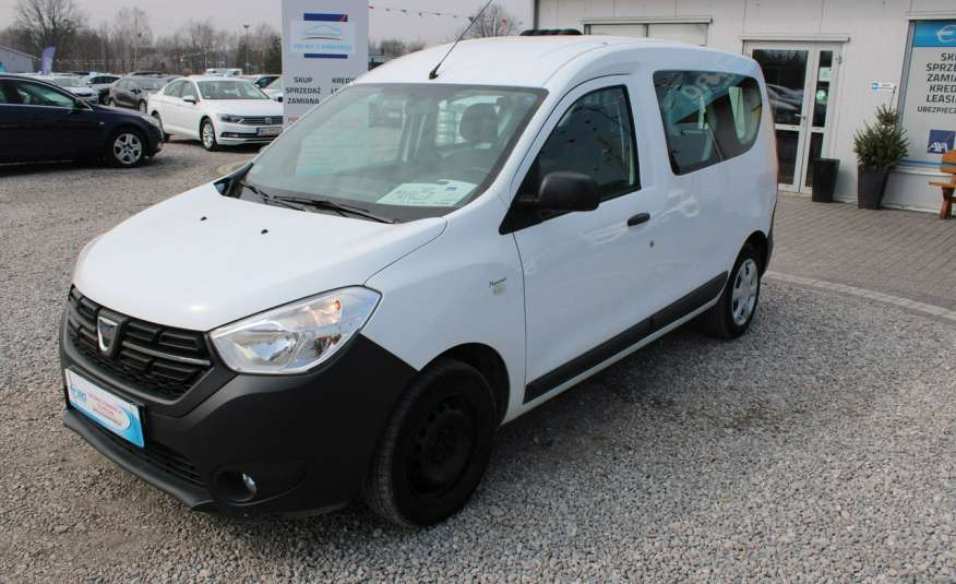 Dacia Dokker F-Vat, Gwarancja, Salon Polska, 5-osób.65tys zdjęcie 3