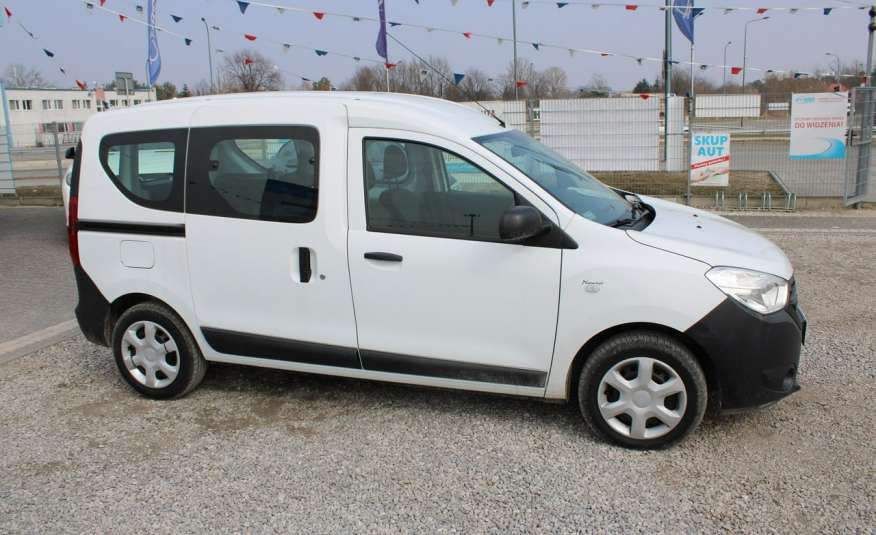 Dacia Dokker F-Vat, Gwarancja, Salon Polska, 5-osób.65tys zdjęcie 4
