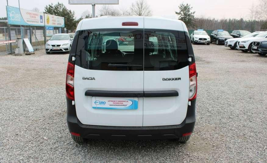 Dacia Dokker F-Vat, Gwarancja, Salon Polska, 5-osób.65tys zdjęcie 30