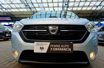 Dacia Lodgy 3 Lata GWARANCJA I-wł Kraj Bezwypadkowy 1.6i LPG 7-osób Laureate FV23% 4x2