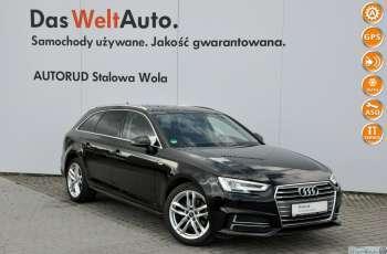 Audi A4 B9 Avant 2.0 TDI 150KM S-line S-tronic LED Serwis ASO FV 23%