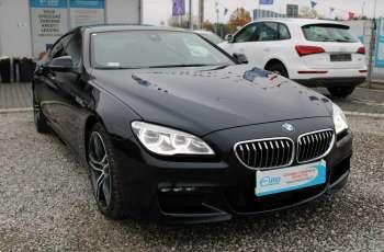 BMW 640 Salon, Skora, Xdrive, Szyber, Faktura vat, 52tys kmGran Coupe