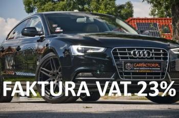 Audi A5 PL Salon, FVAT23%, Alu20, Skóra, Xenon, Led, Zadbana, Gwarancja
