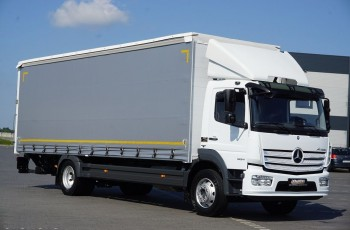 Mercedes / ATEGO / 1524 / ACC / EURO 6 / FIRANKA + WINDA / ŁAD. 8845 KG / 20 PALET