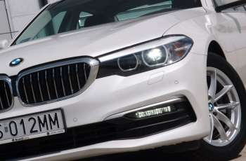 BMW 520 / Benzyna / Kolor biała perła / Tylko 6000km / FV 23% / ROK GWARANCJI
