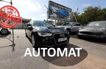 Audi A6 2.0 TDI 177 KM, S-Line, Automat, Skóra, LED, Bluetooth, Nawigacja, ALU