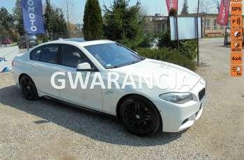 BMW 550 Pełne wyposażenie-bezwypadkowa-X-DRIVE-408 KM-patrz opis
