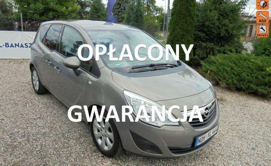 Opel Meriva Gwarancja przebiegu- opłacona , jeden właściciel .1.4benzyna zdjęcie 1