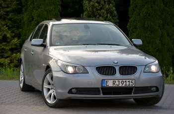 """BMW 525 525i(177KM) Xenon Skóry Navi Prof. El.Fotele 1-Wł Alu 18""""ASO BMW"""