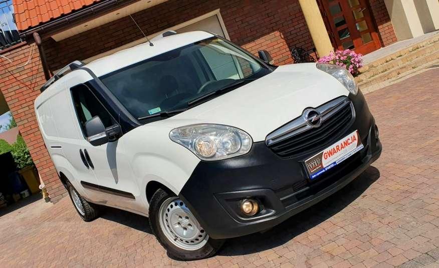 Opel Combo MAXI L2, 1.6 CDTI 105 KM, VAT-1, Salon PL, I WŁ, Gwarancja, leasing zdjęcie 4