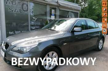 BMW 520 2.2 121tysKM. Automat Skóry Xenon Alu Bez Rdzy Bezwypadk Oplacony