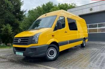 Volkswagen Crafter 2.0 TDI 2012 Max długi 7 osób Klimatyzacja Gwarancja