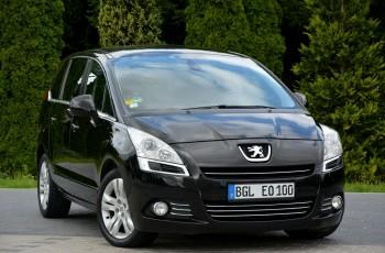 "Peugeot 5008 2.0HDI(163KM) Automat Duża Navi Panorama 2xParktr Alu 17""ASO"