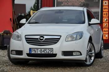 Opel Insignia Biała perła 2.0CDTI Bi-turbo 190KM 4x4 Bi-xenon LED Skóra Navi el.klap