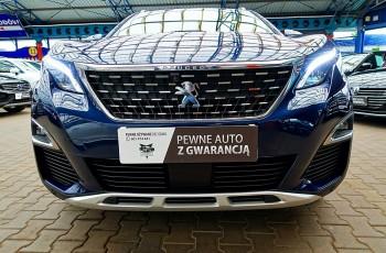 Peugeot 5008 3LATA GWARANCJA 1WŁ Bezwypadkowy Kraj 7osób 165KM AUTOMAT ALLURE FV23% 4x2