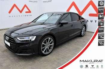 Audi A8 Bang&Olufsen, Panorama, Head Up, Masaże, Webasto, wentyle, F-23%,