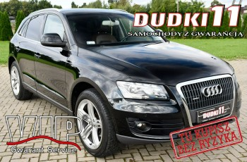 Audi Q5 2.0TDI Serwis, Quattro.Navi, Skóry, Parktronic, Zarej w PL.