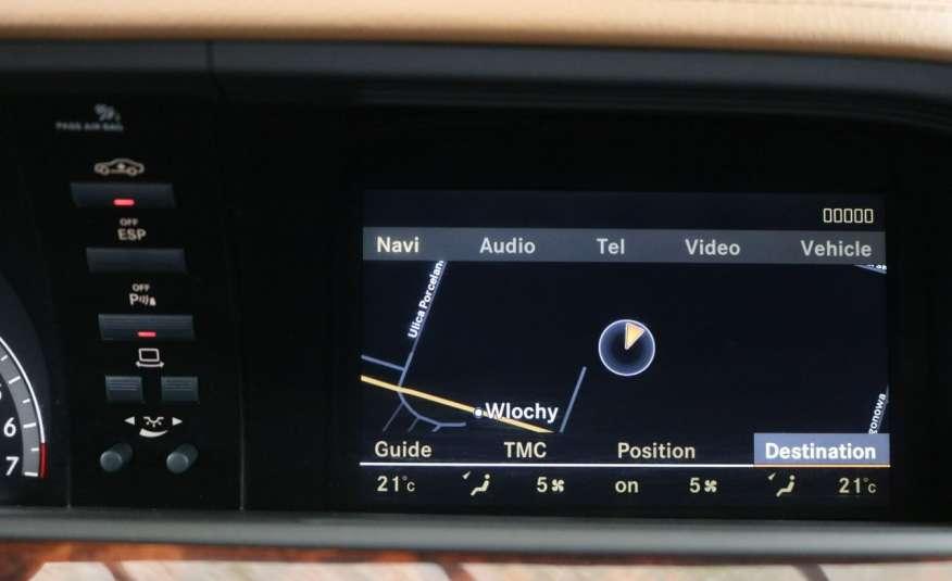 Mercedes S 350 S 350 Long, Bogate Wyposażenie, zdjęcie 8