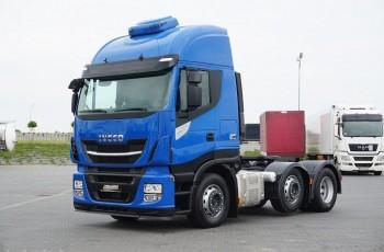 Iveco STRALIS / 510 / 6 X 2 / EURO 6 / PUSHER / RETARDER / DMC 60 000 KG