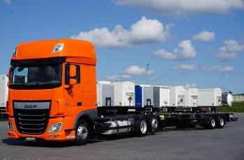 DAF 106 / 460 / SSC / ACC / EURO 6 / ZESTAW BDF / 2 X 7.8 M