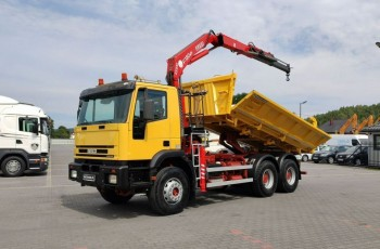 Iveco Trakker 350 6x4 Wywrot+HDS