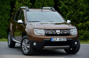 "Dacia Duster 1.2TCE(125KM) Duża Navi Skóry Parktronik I Wł Alu 16""ASO Dacia"