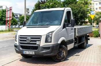 Volkswagen Crafter 2.5_Diesel_136KM_257 tys km_FV23%_Zamiana do 3, 5 tony_zarejestrowany
