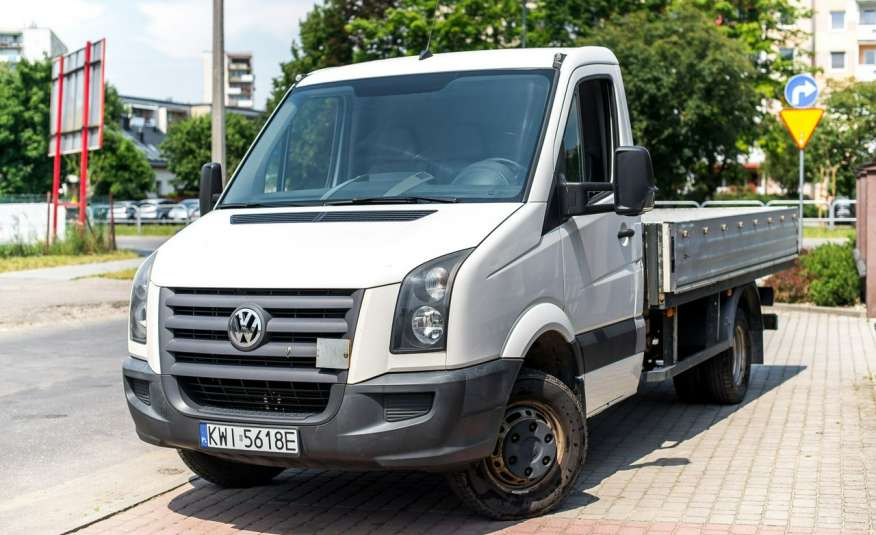 Volkswagen Crafter 2.5_Diesel_136KM_257 tys km_FV23%_Zamiana do 3, 5 tony_zarejestrowany zdjęcie 1