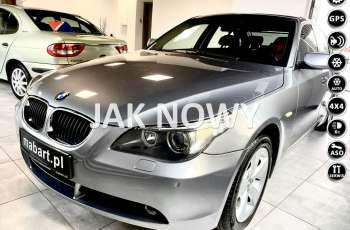 BMW 530 530i xDrive 4x4 258KM Individual Komfort MANUAL BiXenon HiFi Rude Skór