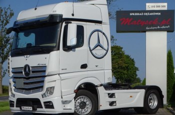 Mercedes ACTROS 1848 / BIG SPACE / I-COOL / FLEETBOARD / ACC / EURO 6 /